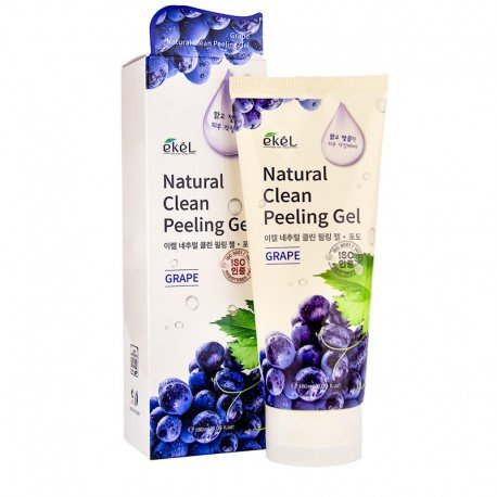 Пилинг-скатка с экстрактом винограда Ekel Natural Clean Peeling Gel Grape