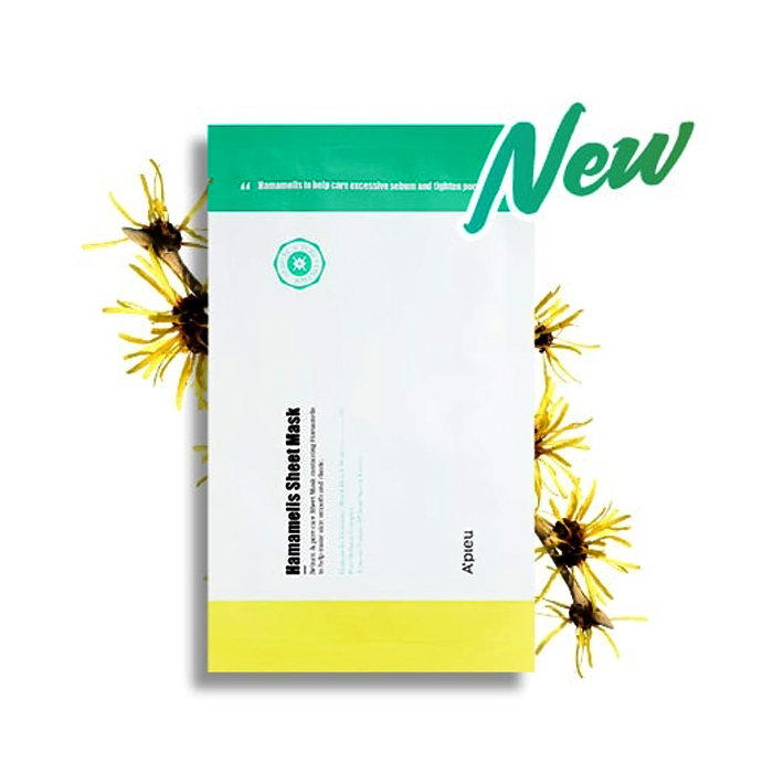 Тканевая маска A'PIEU с гамамелисом Hamamelis Sheet Mask